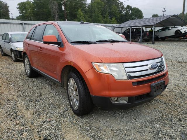 Salvage cars for sale from Copart Mebane, NC: 2008 Ford Edge Limited