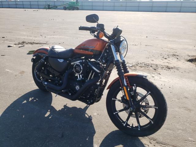 Salvage cars for sale from Copart Dunn, NC: 2020 Harley-Davidson XL883 N
