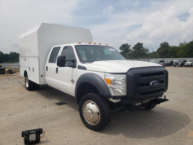 Salvage cars for sale from Copart Austell, GA: 2016 Ford F450 Super