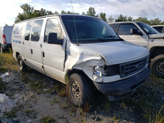Salvage cars for sale from Copart Spartanburg, SC: 2005 Ford Econoline