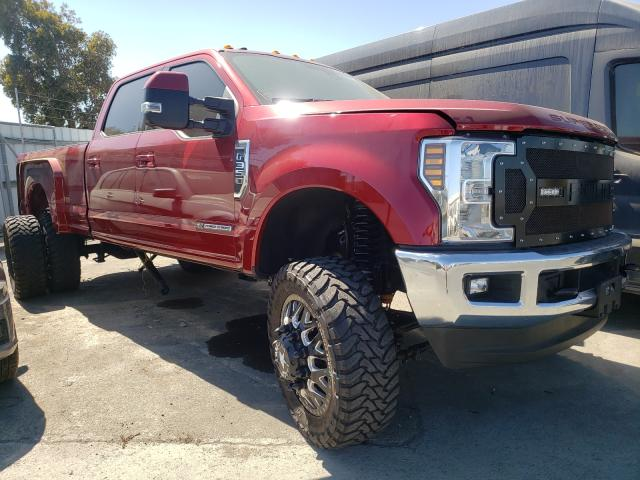 Salvage cars for sale from Copart Martinez, CA: 2018 Ford F350 Super