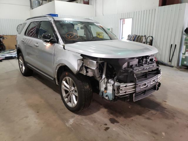 Salvage cars for sale from Copart Lufkin, TX: 2018 Ford Explorer X