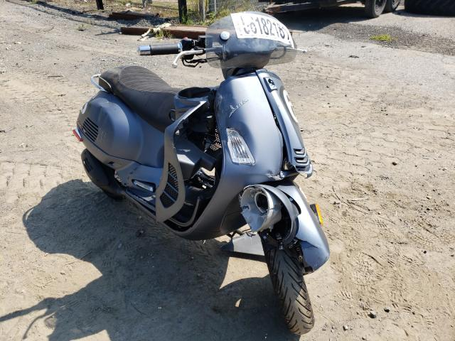Salvage cars for sale from Copart Waldorf, MD: 2020 Vespa GTS300