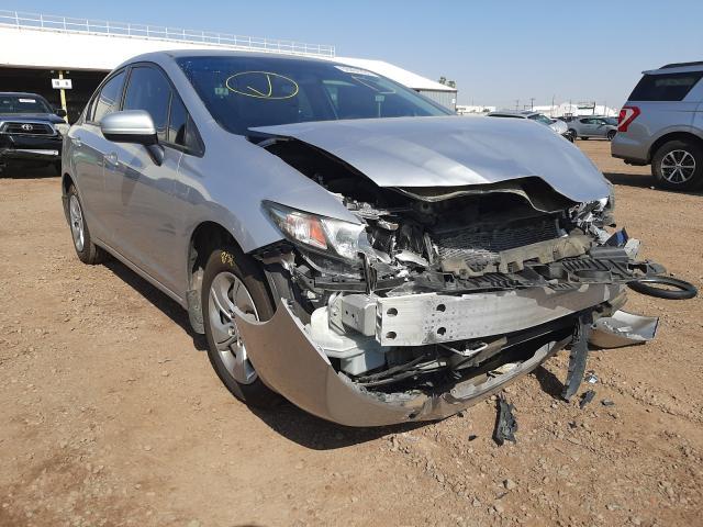 Salvage cars for sale from Copart Phoenix, AZ: 2015 Honda Civic LX