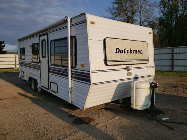 Salvage cars for sale from Copart Davison, MI: 1996 Dtch Trailer