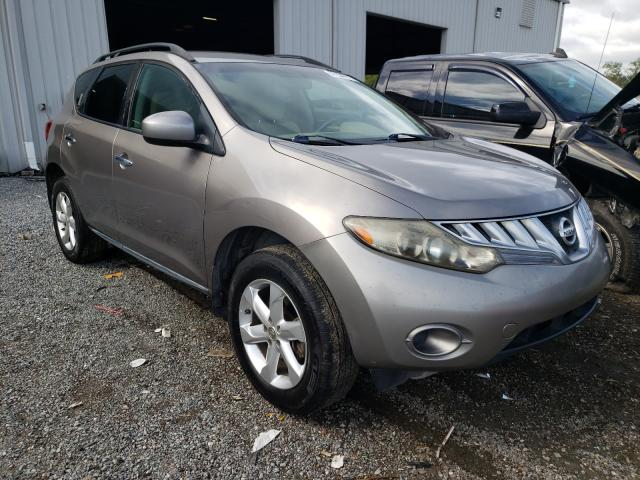 Salvage cars for sale from Copart Jacksonville, FL: 2009 Nissan Murano S