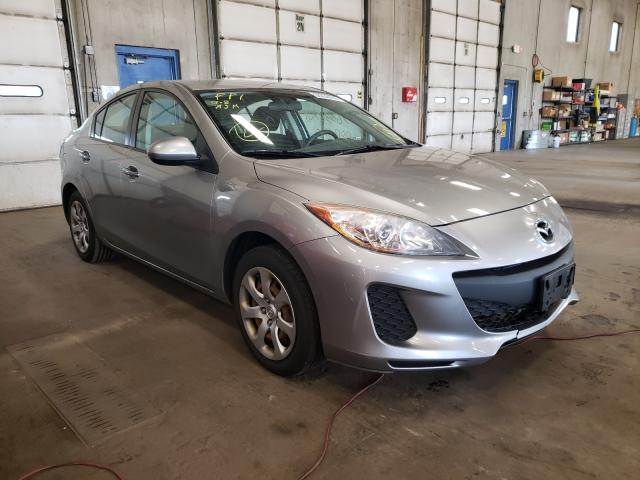 Salvage cars for sale from Copart Blaine, MN: 2012 Mazda 3 I