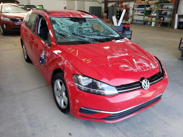 Salvage cars for sale from Copart Nisku, AB: 2018 Volkswagen Golf Sport
