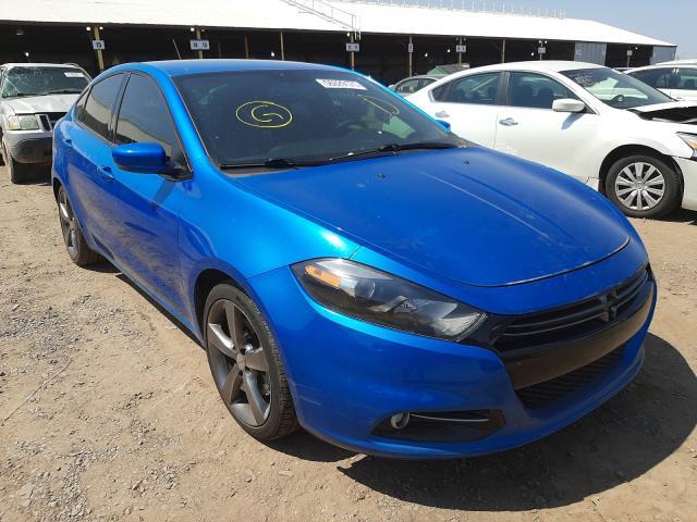 Salvage cars for sale at Phoenix, AZ auction: 2016 Dodge Dart GT