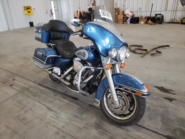 Salvage cars for sale from Copart Avon, MN: 2005 Harley-Davidson Flhtci