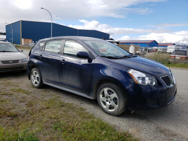Salvage cars for sale from Copart Rocky View County, AB: 2010 Pontiac Vibe