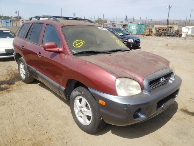 Salvage cars for sale from Copart San Martin, CA: 2004 Hyundai Santa FE G