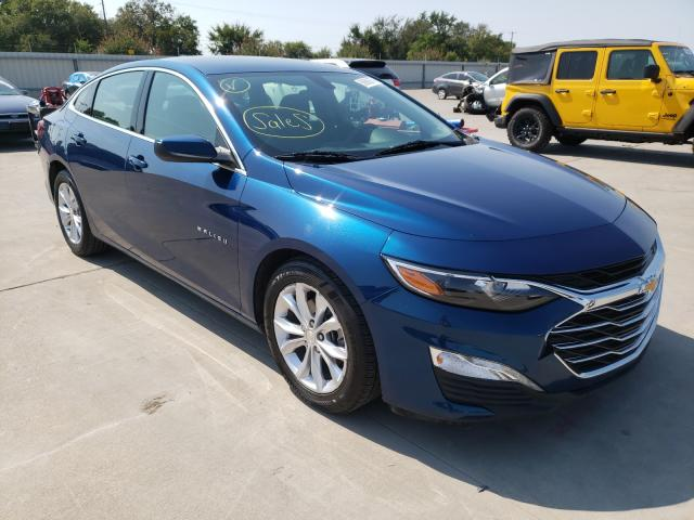 Vehiculos salvage en venta de Copart Wilmer, TX: 2019 Chevrolet Malibu LT