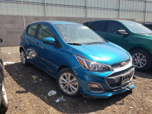 Chevrolet Spark 1LT salvage cars for sale: 2019 Chevrolet Spark 1LT
