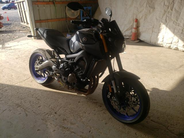 Salvage cars for sale from Copart Madisonville, TN: 2014 Yamaha FZ09
