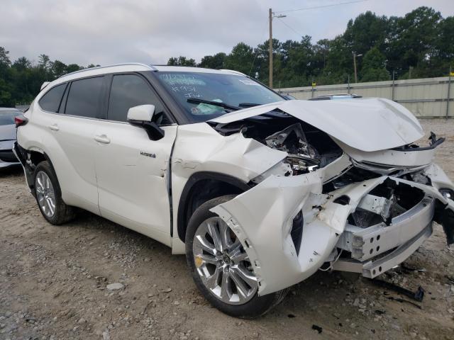 Toyota Highlander salvage cars for sale: 2021 Toyota Highlander