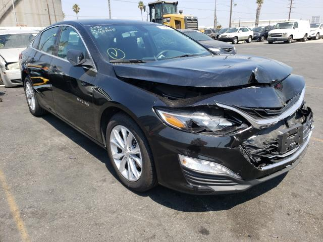 Salvage cars for sale from Copart Wilmington, CA: 2020 Chevrolet Malibu LT