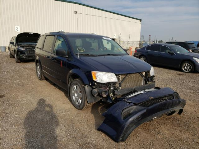 Salvage cars for sale from Copart Rocky View County, AB: 2012 Dodge Grand Caravan