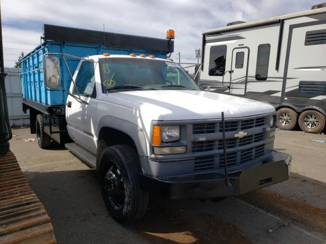 Salvage cars for sale from Copart Woodburn, OR: 1995 Chevrolet GMT-400 C3