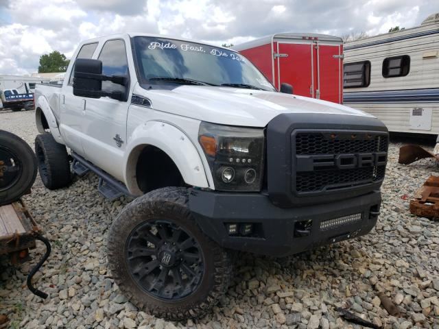 Salvage cars for sale from Copart Appleton, WI: 2012 Ford F250 Super
