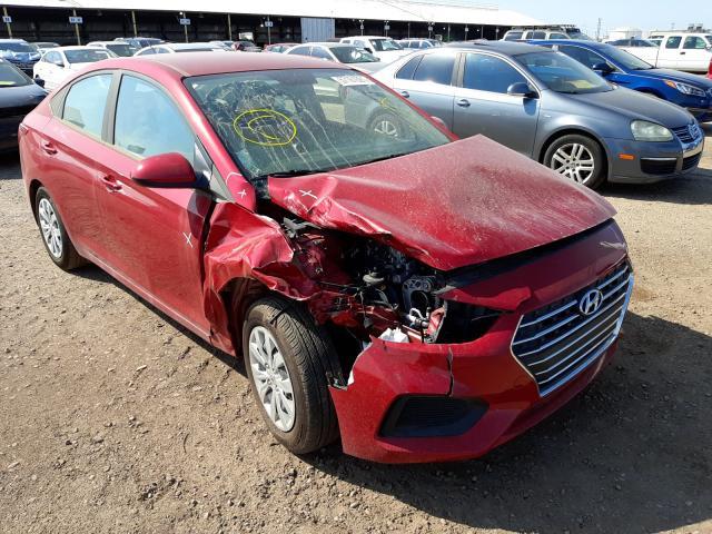 Salvage cars for sale from Copart Phoenix, AZ: 2021 Hyundai Accent SE