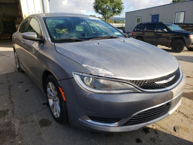 Salvage cars for sale from Copart Duryea, PA: 2015 Chrysler 200 Limited