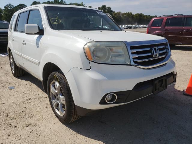 Honda Pilot EXL salvage cars for sale: 2013 Honda Pilot EXL