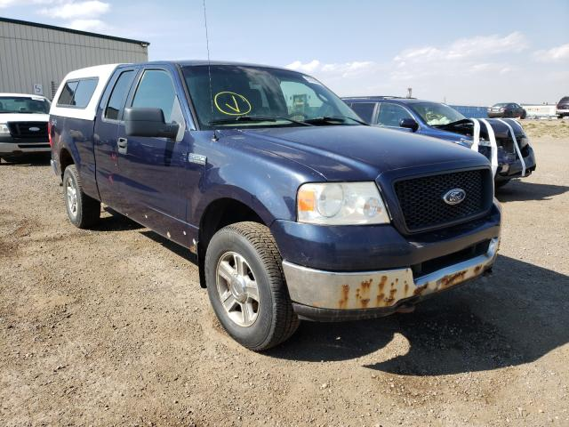 Salvage cars for sale from Copart Rocky View County, AB: 2005 Ford F150