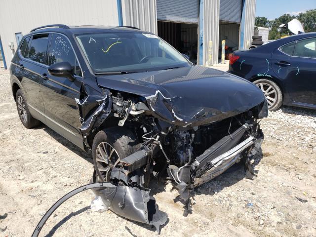Salvage cars for sale from Copart Ellenwood, GA: 2020 Volkswagen Tiguan SE