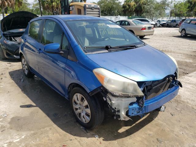 Toyota Yaris salvage cars for sale: 2013 Toyota Yaris