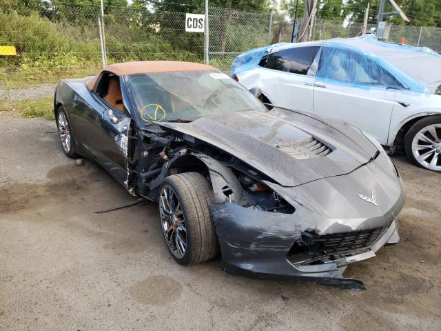 Salvage cars for sale at Marlboro, NY auction: 2014 Chevrolet Corvette S