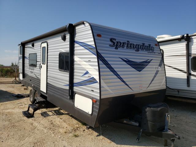 Springdale salvage cars for sale: 2019 Springdale Travel Trailer