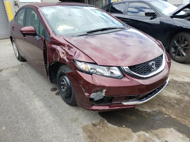 Vehiculos salvage en venta de Copart Duryea, PA: 2015 Honda Civic LX