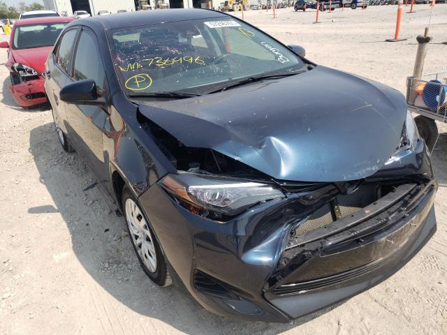 Salvage cars for sale from Copart Kansas City, KS: 2018 Toyota Corolla L