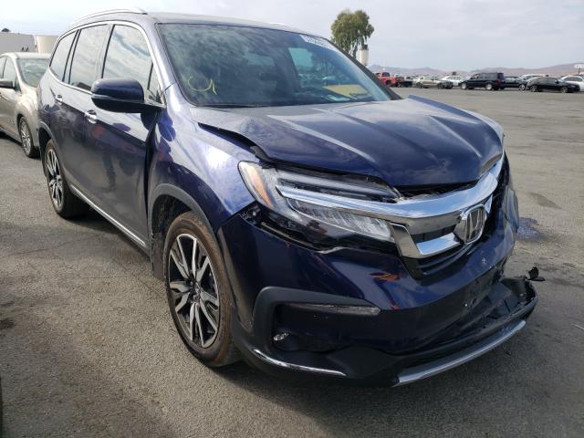 Vehiculos salvage en venta de Copart Martinez, CA: 2020 Honda Pilot Touring