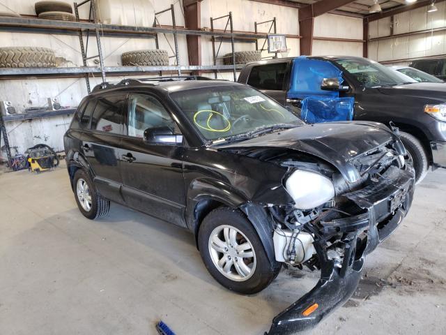 Hyundai salvage cars for sale: 2007 Hyundai Tucson SE