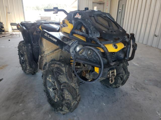Salvage cars for sale from Copart Florence, MS: 2015 Can-Am Outlander