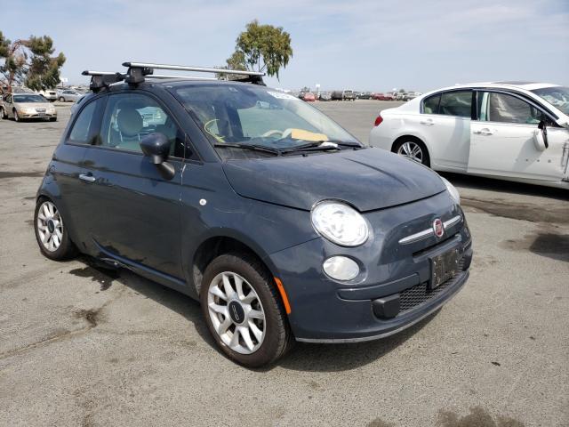Vehiculos salvage en venta de Copart Martinez, CA: 2016 Fiat 500 Easy