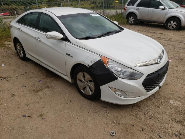 Vehiculos salvage en venta de Copart Madison, WI: 2013 Hyundai Sonata Hybrid