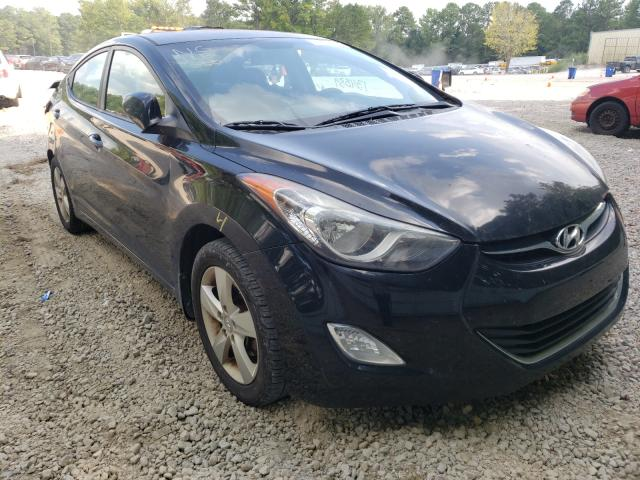 Salvage cars for sale from Copart Knightdale, NC: 2013 Hyundai Elantra