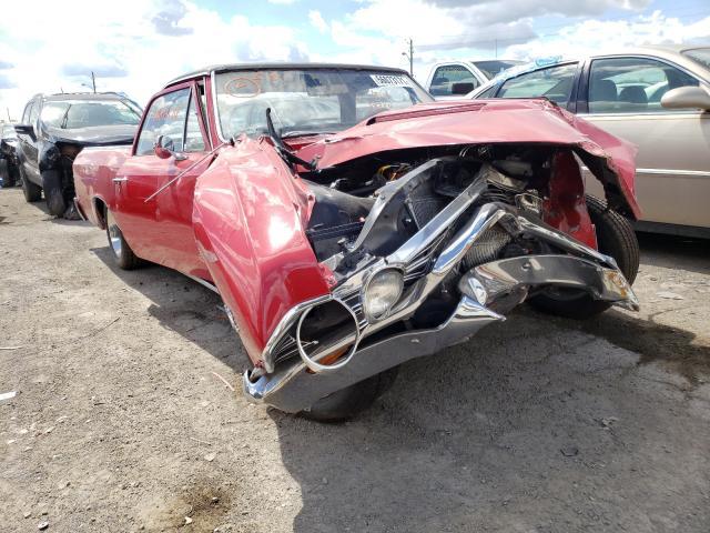 Chevrolet EL Camino salvage cars for sale: 1967 Chevrolet EL Camino
