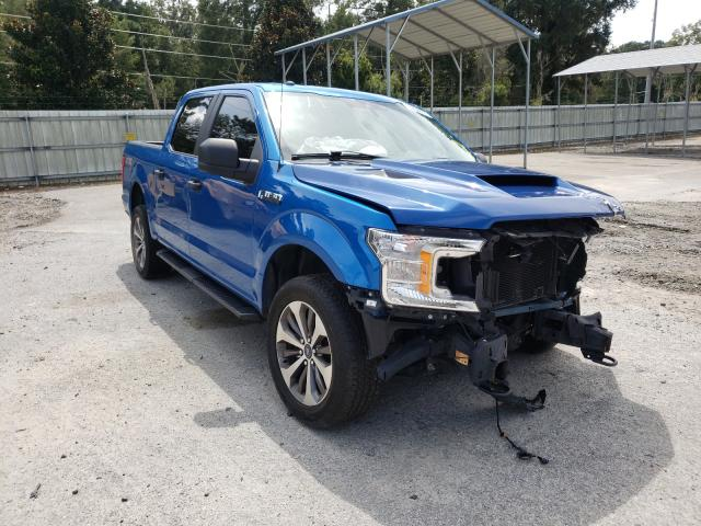 Ford F-150 salvage cars for sale: 2019 Ford F-150