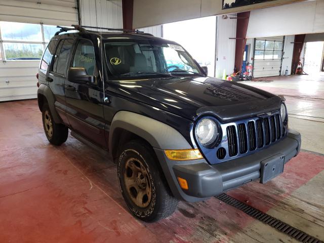 2007 Jeep Liberty SP en venta en Angola, NY