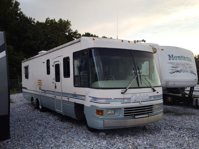 Salvage trucks for sale at York Haven, PA auction: 1998 National Rv RV