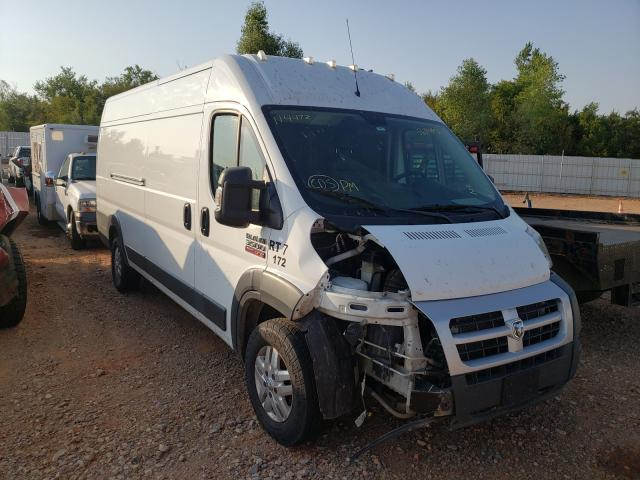 Salvage trucks for sale at Oklahoma City, OK auction: 2014 Dodge RAM Promaster