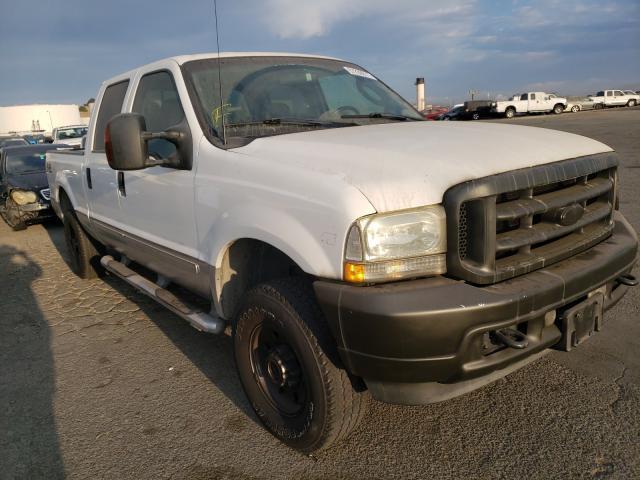 Vehiculos salvage en venta de Copart Martinez, CA: 2003 Ford F250 Super