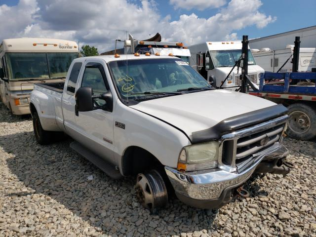 Salvage cars for sale from Copart Appleton, WI: 2004 Ford F350 Super