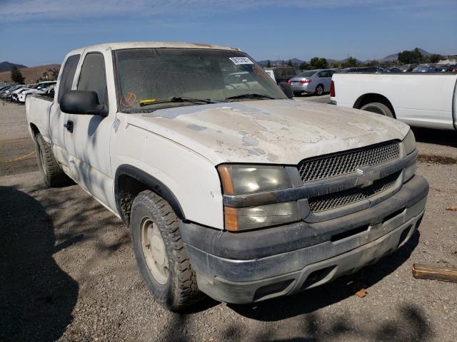 Salvage cars for sale from Copart San Martin, CA: 2003 Chevrolet Silverado