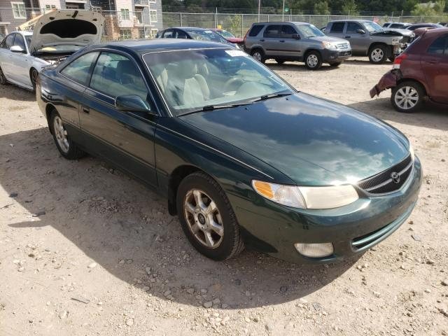 Salvage cars for sale from Copart Madison, WI: 2001 Toyota Camry Sola