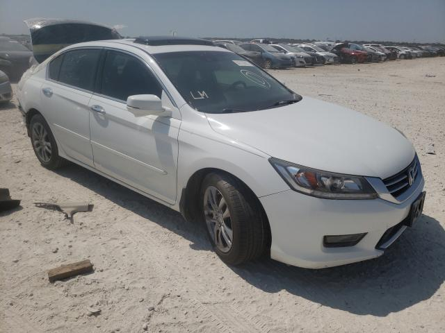Salvage cars for sale from Copart New Braunfels, TX: 2015 Honda Accord TOU